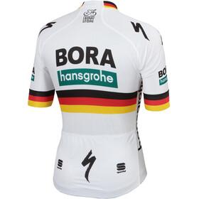 Sportful Team Bora-HG Bodyfit Fietsshirt korte mouwen Heren wit/bont